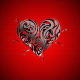 Heart valentine  design Stock Image