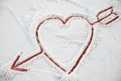 Heart valentine for happy day. Heart valentine happy day for all person Royalty Free Stock Images