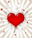 Heart valentine's Stock Images