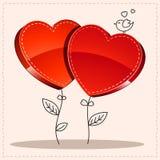 Heart valentine's day. Illustration Royalty Free Stock Photos