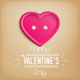 Heart for Valentine's Day (14 February) Royalty Free Stock Photography
