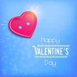 Heart for Valentine's Day (14 February) Royalty Free Stock Photos