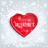 Heart for Valentine's Day (14 February) Stock Images