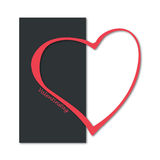 Heart valentine`s day Royalty Free Stock Image