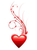 Heart. Valentine's day love symbol. Royalty Free Stock Photo