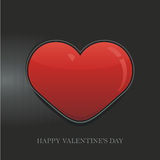 Heart Valentine's day vector background Stock Photos