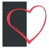 Heart valentine`s day Royalty Free Stock Photography