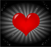 Heart Valentine Wallpaper Royalty Free Stock Photography