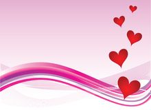 Heart valentines background. Heart valentines abstract background illustration Royalty Free Stock Image