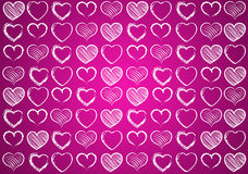 Heart for Valentines Background Royalty Free Stock Photos