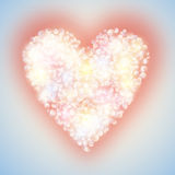 Heart, valentines. Royalty Free Stock Images
