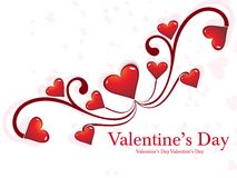 Heart Valentines Day background Royalty Free Stock Photos