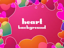 Heart Valentines Day background Stock Photos