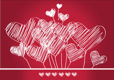 Heart for Valentines Day Royalty Free Stock Photography