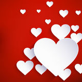 Heart for Valentines Day Background. EPS 10 Royalty Free Stock Image