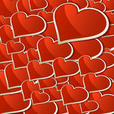 Heart for Valentines Day Background. + EPS10 Stock Images
