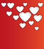 Heart for Valentines Day Background Stock Image