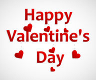Heart for Valentines Day Background. Royalty Free Stock Photography