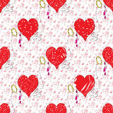 Heart Valentines Day grunge effect Royalty Free Stock Images