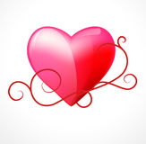 Heart vector Royalty Free Stock Photography