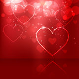 Heart vector Stock Photography