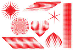 Heart, vector Royalty Free Stock Images