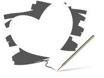 Heart Vector Stock Image