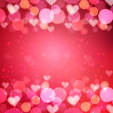 Heart  vector background Stock Photography