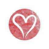 Heart vector icon. Royalty Free Stock Photography