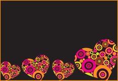 Heart vector illustration Stock Photography
