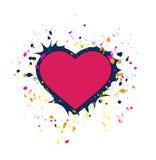 Heart vector Royalty Free Stock Photography