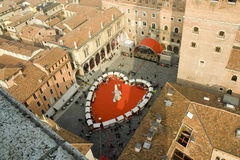 Heart in Verona Stock Image