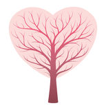 Heart vessels tree concept. Human heart vessels tree concept Stock Photos