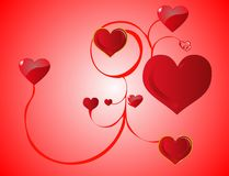 Heart Vines... Royalty Free Stock Photography