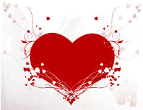 Heart with Vines royalty free stock photos