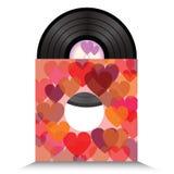 Heart vinil Royalty Free Stock Photos
