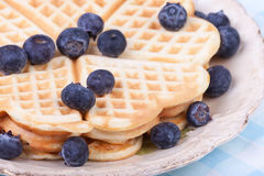 Heart waffels Royalty Free Stock Photography