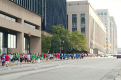Heart Walk Cleveland Stock Photo