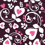 Heart wallpaper royalty free illustration