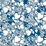 Heart wallpaper Royalty Free Stock Images