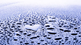 Heart Water Drop Royalty Free Stock Image