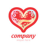 Heart for wedding Royalty Free Stock Images