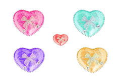 Heart with white background. Heart beautiful with white background Stock Image