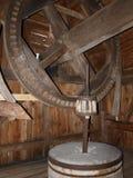 Heart of windmill, Hola, Poland Stock Image
