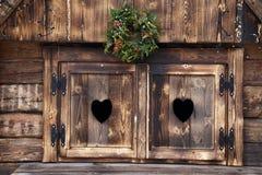 Heart windows Royalty Free Stock Photos