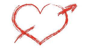 Free Heart With Arrow Stock Photos - 63143