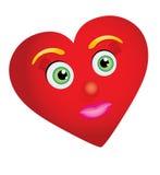 Heart-woman Stock Photo