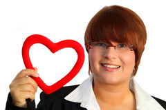 Heart woman Stock Photography