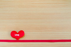 Heart on wooden board, valentines day concept, Valentines day. Background, Valentines day background with heart Royalty Free Stock Image