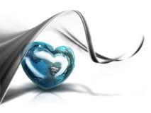 Heart of the World Stock Photo